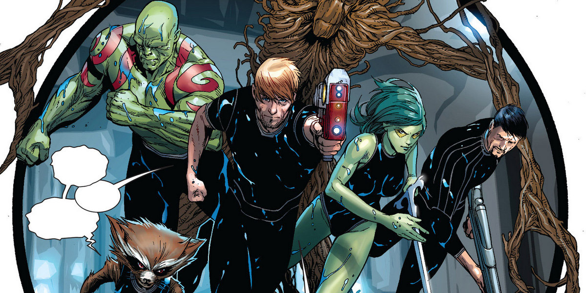#ThrowbackThursday GUARDIANS OF THE GALAXY – Comic-Tipp